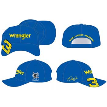 "2010 Dale Earnhardt Jr Wrangler ""Distressed"" cap"