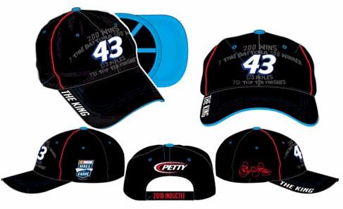 "2010 Richard Petty ""NASCAR Hall of Fame"" cap"