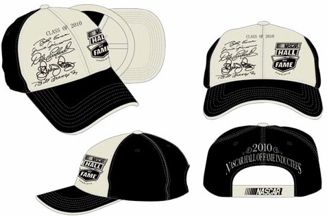 2010 NASCAR Hall of Fame Inductees cap