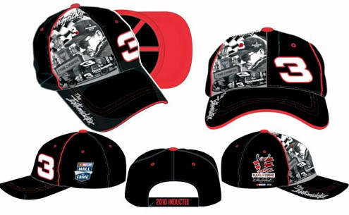 "2010 Dale Earnhardt ""NASCAR Hall of Fame"" cap"