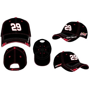 """2011 Kevin Harvick Budweiser """"Black Out"""" twill cap"""