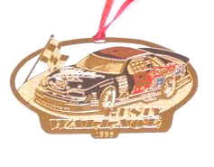 1996 Rusty Wallace Miller spinout Christmas ornament