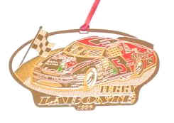 1996 Terry Labonte Kelloggs spinout Christmas ornament