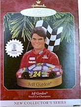 1997 Jeff Gordon Christmas ornament by Hallmark