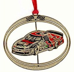 1997 Terry Labonte Kelloggs spin out Christmas ornament