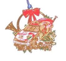 1998 Terry Labonte Kelloggs spinout Christmas ornament