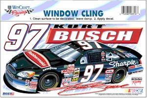 2002 Kurt Busch Sharpie static decal