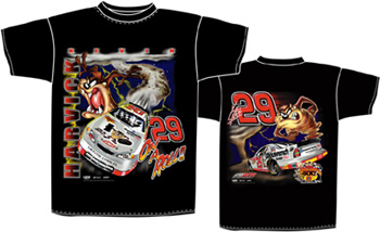 2001 Kevin Harvick 'On a Roll' tee