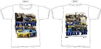 "2010 Dale Earnhardt Jr Wrangler ""Daytona Win"" tee"