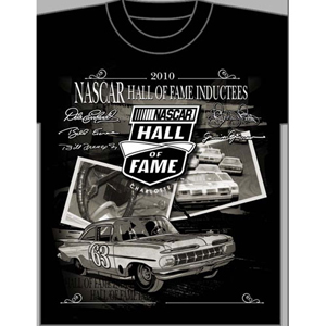 2010 NASCAR Hall of Fame Inductees Tee