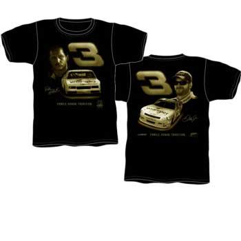 """2010 Dale Earnhardt Jr Wrangler """"Family, Honor, Tradition"""" Black tee"""
