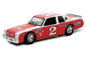 1980 Dale Earnhardt 1/24 Coca-Cola Busch Series b/w bank