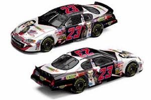 2003 Scott Wimmer 1/24 Bill Davis Racing/Monsters c/w car