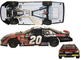 "2008 Joey Lagano 1/24th GameStop ""1st Nationwide Series Win"" car"