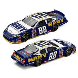 "2007 Shane Huffman 1/64th Navy ""American Heros""""Dealer Select"" Busch Series car"