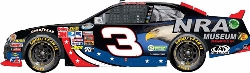 2012 Austin Dillon 1/24th Bass Pro Shops/NRA Museum car