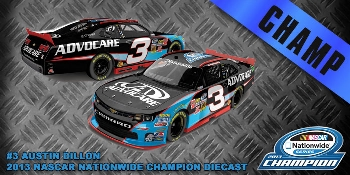 "2013 Austin Dillon 1/24th Advocare ""Nationwide Series Champion"" car"