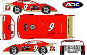 2004 Bill Elliott 1/64th DLM car