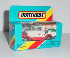 "1990 York Fair 1/55th ""225th Anniversary"" Old Time Box Truck"