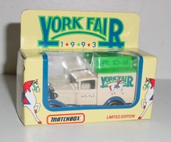 1993 York Fair 1/55th Old Time Box Truck