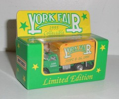 "1995 York Fair 1/55th ""230th Anniversary"" Box Truck"