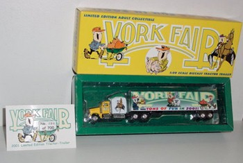 "2001 York Fair 1/87th ""Tons of Fun"" Hauler"
