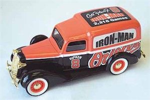 1936 Cal Ripken Iron Man Dodge replica bank