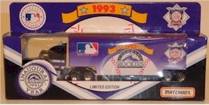 1993 Colorado Rockies 1/87 MLB transporter