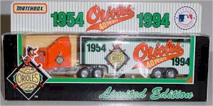1994 Baltimore Orioles 40 Years 1/80 MLB transporter