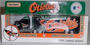 1994 Baltimore Orioles 1/80 MLB transporter