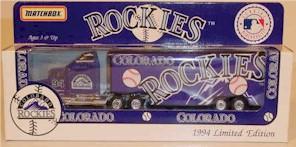 1994 Colorado Rockies 1/80 MLB transporter
