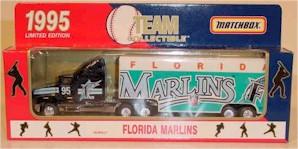 1995 Florida Marlins 1/80 MLB transporter