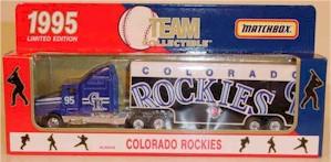 1995 Colorado Rockies 1/80 MLB transporter