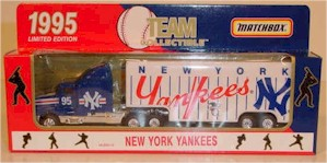 1995 New York Yankees 1/80 MLB transporter