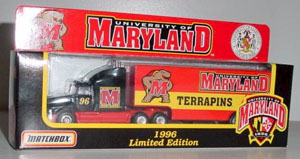 1996 University of Maryland Terrapins 1/87th Transporter
