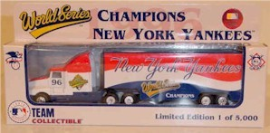 "1996 New York Yankees ""Champions"" 1/80th MLB transporter"