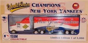 "1996 New York Yankees ""Champions"" 1/80th MLB transporter"