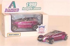 1998 Arizona Diamondbacks 1/64 Prowler