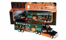 1998 Baltimore Orioles 1/80 MLB transporter