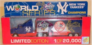 1998 New York Yankees Champion 1/80th MLB transporter