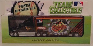 1999 Baltimore Orioles 1/80 MLB transporter