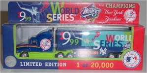 "1999 New York Yankees ""Champions"" 1/80th MLB transporter"