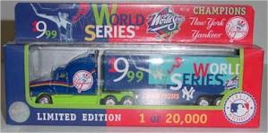 "1999 New York Yankees ""Champions"" 1/80th MLB transporter"