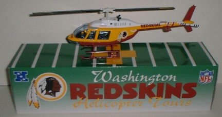 2000 Washington Redskins 1/43rd Helicopter