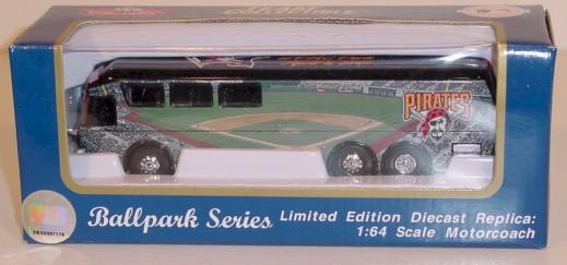 2001 Pittsburgh Pirates 1/64 motorcoach