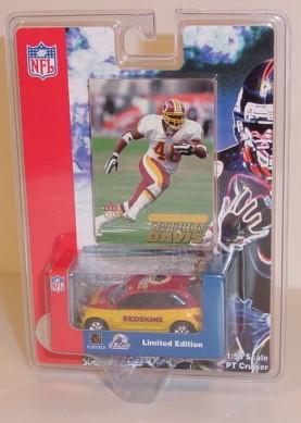 2001 Washington Redskins 1/64th PT Cruiser