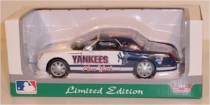 2001 New York Yankees 1/64th Thunderbird