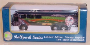 2001 New York Yankees 1/64 Motorcoach