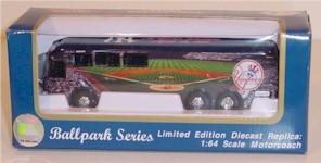 2001 New York Yankees 1/64th Motorcoach