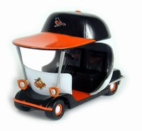2003 Baltimore Orioles bullpen car